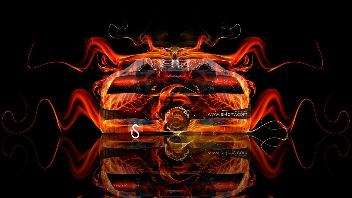 Lamborghini Sesto Elemento Back Fire Abstract Car 2013 Hd Wallpapers
