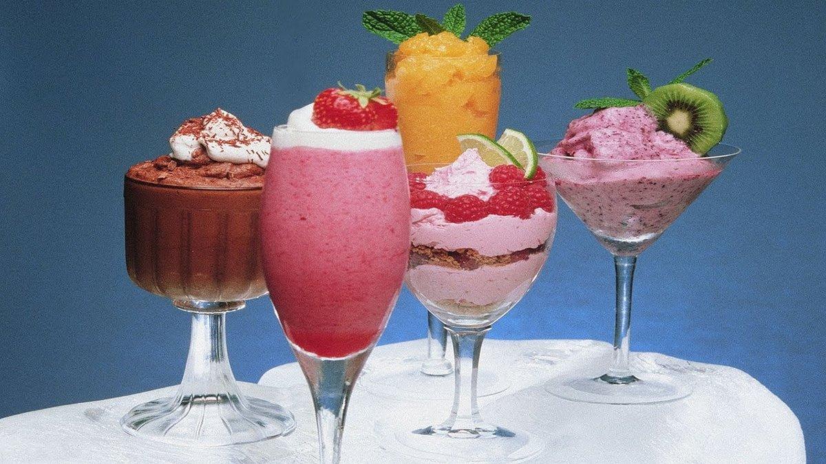 Красивым фото соков и мороженого