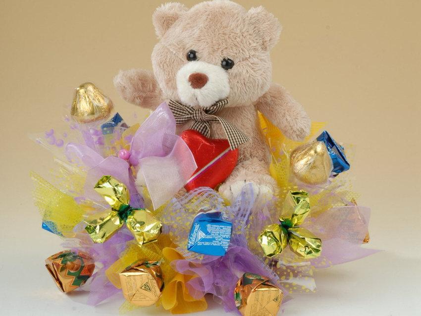 Цветов, букеты на детский день рождения