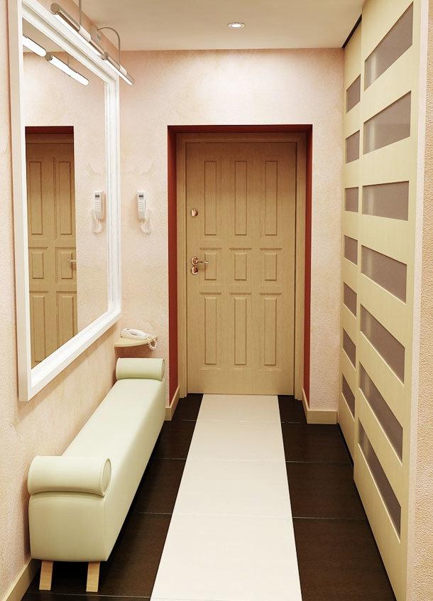 Фото узкого коридора #13