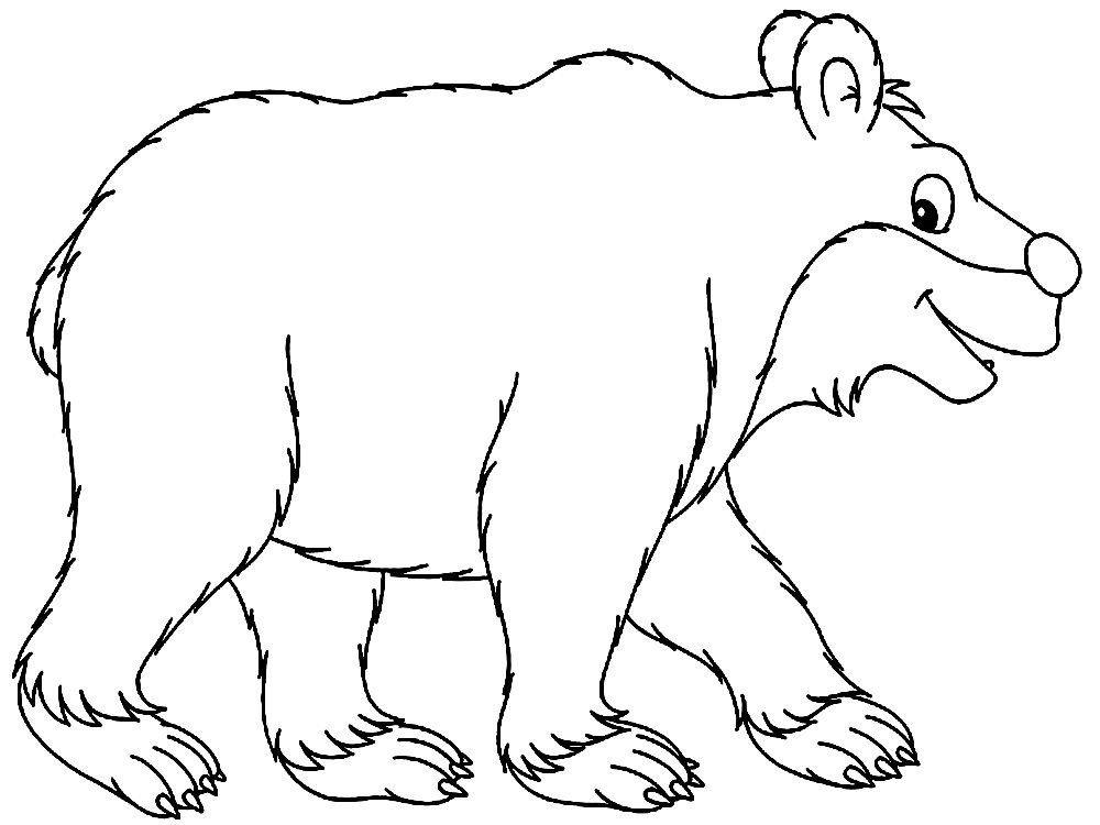 картинки зверей для раскрашивания детям данный