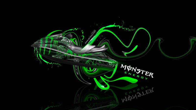 Monster Energy JetSki Kawasaki Ultra 300 LX Fantasy