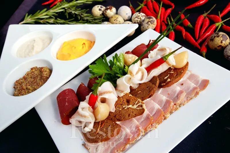 Меню дорогих ресторанов москвы с фото блюд