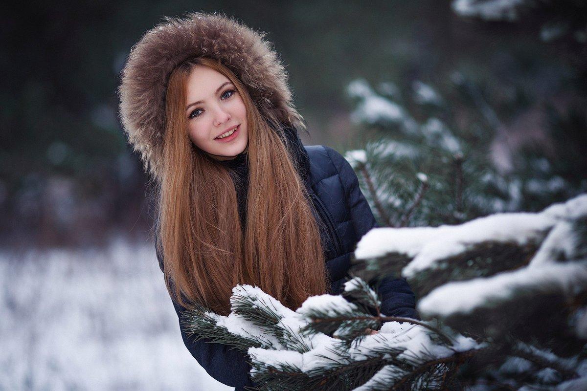 Красивые девчонки зимой — 1