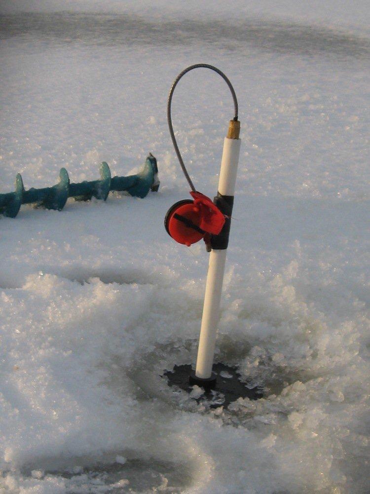 Зимняя рыбалка изготовления зимних жерлиц