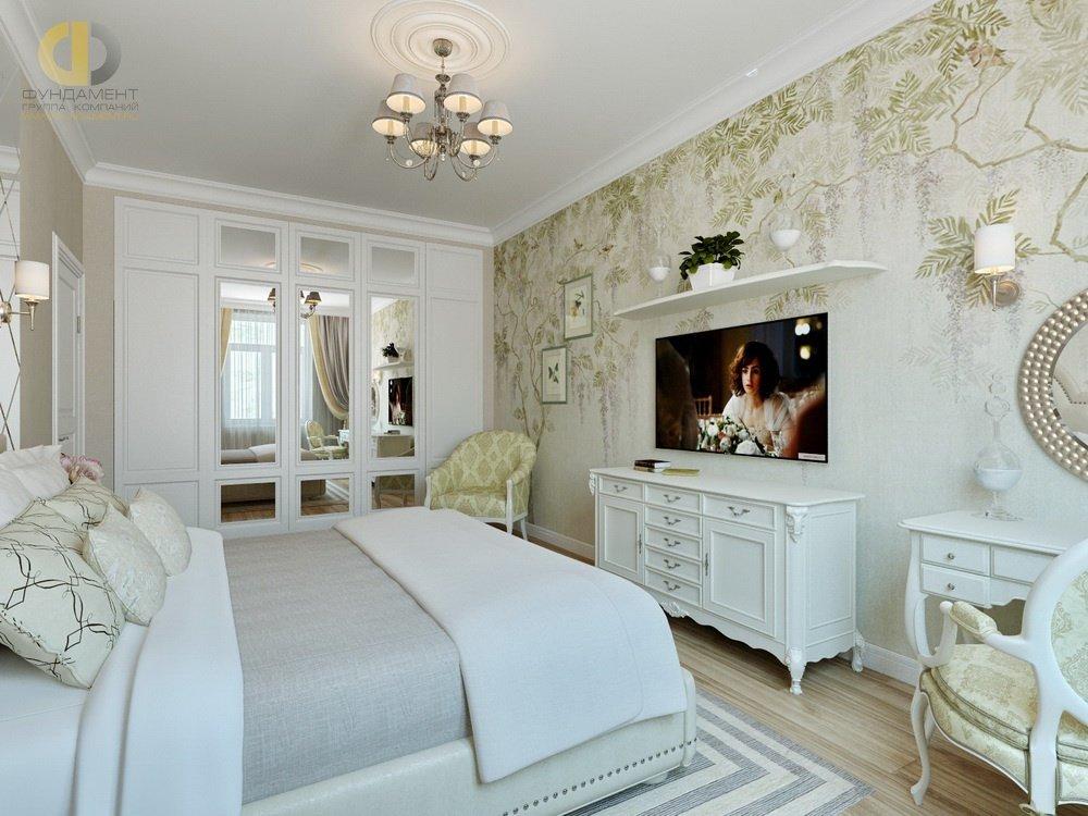 производства спальня в стиле неоклассика фото интерьер тему