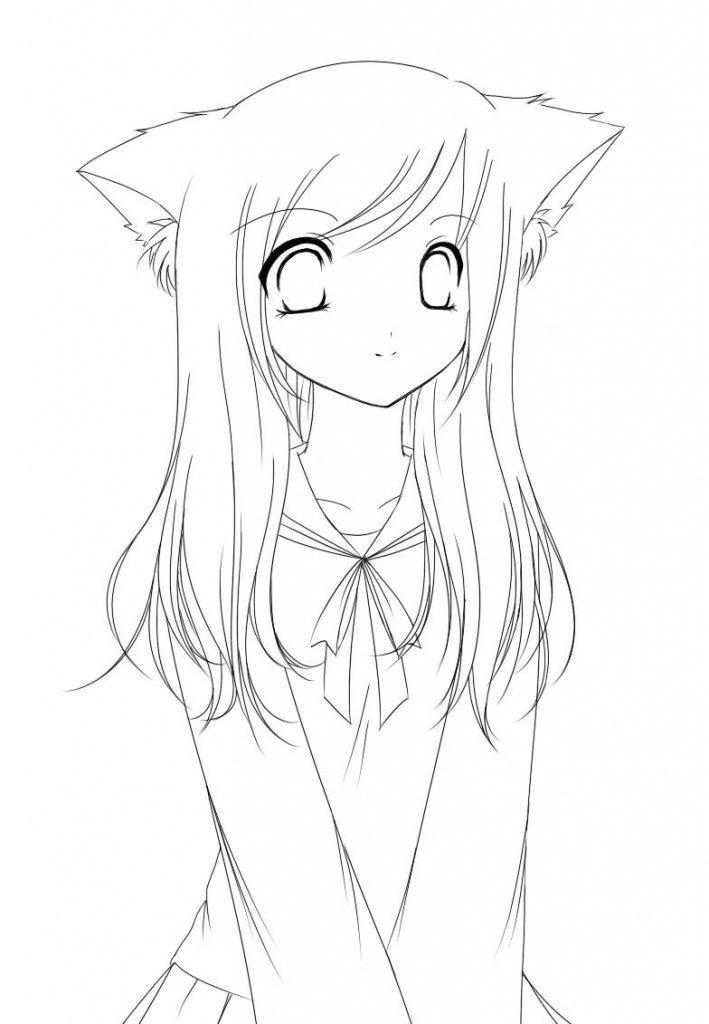 Картинки, картинки для срисовки карандашом прикольные для девочек 14 лет аниме