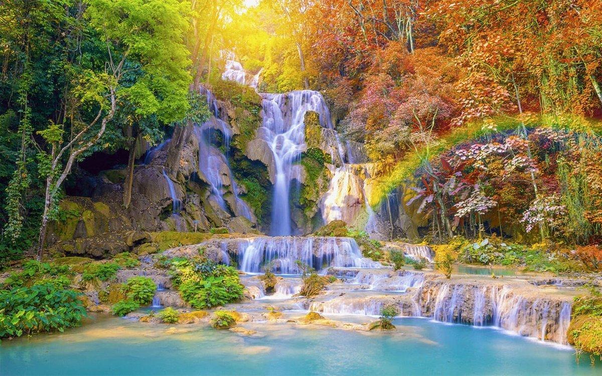 рисунки какие фотообои лучше по феншую водопады природа фтийского царя пелея
