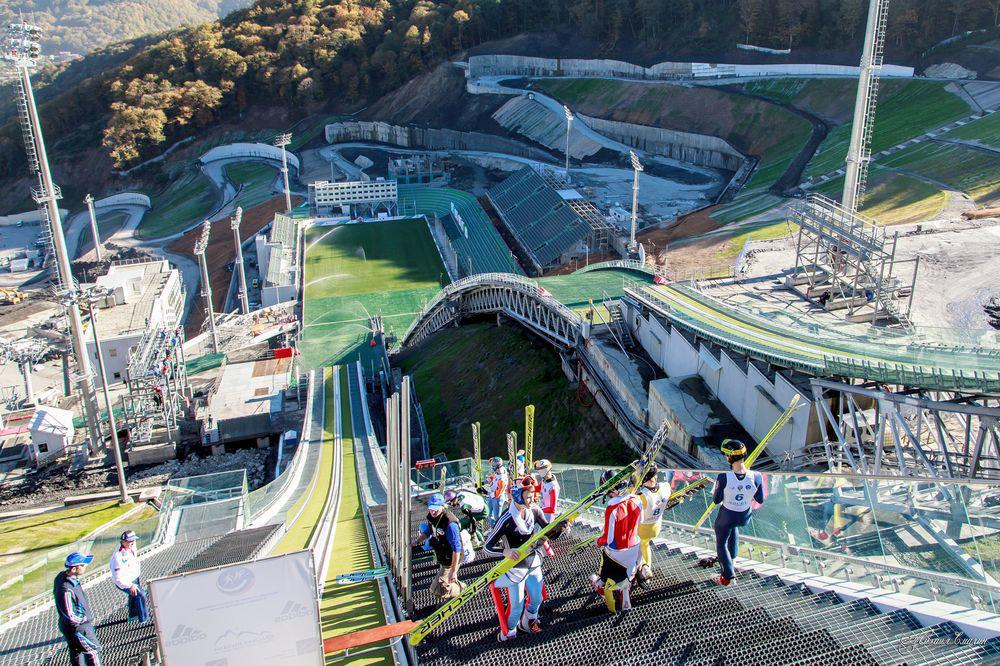Картинки олимпийских горок