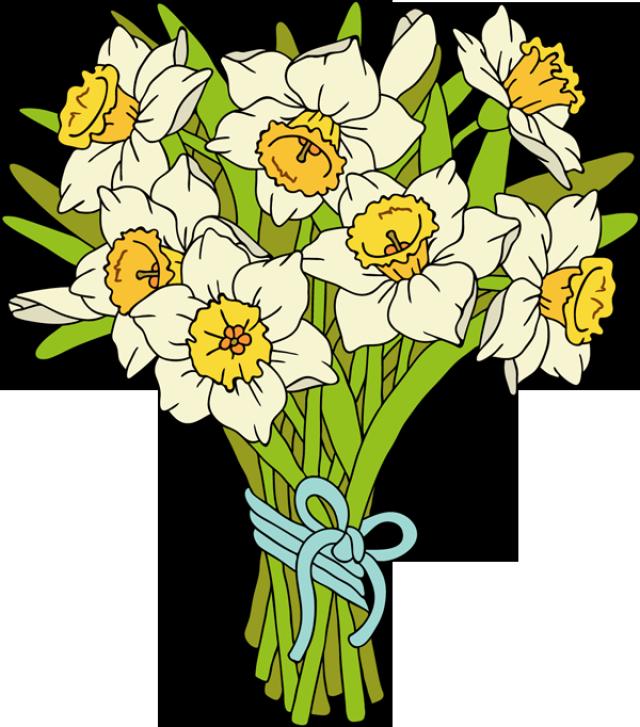 Букетик цветов картинки для детей, днем рождения