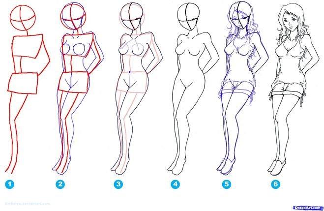 Как нарисовать эротическую девушку — photo 6