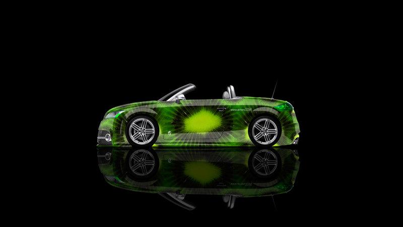 Audi TT Roadster Side Kiwi Aerography Car 2014