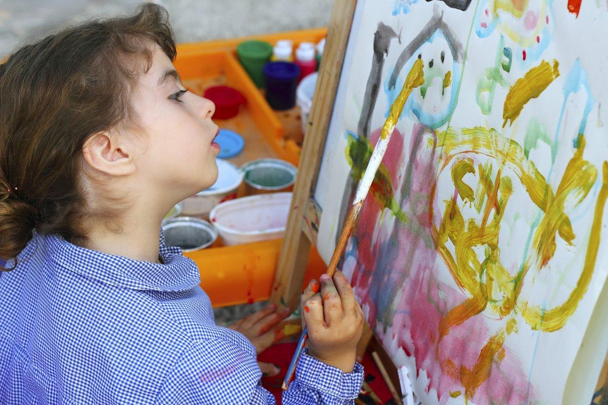 Картинки которые нарисовали дети 8 лет, открытка