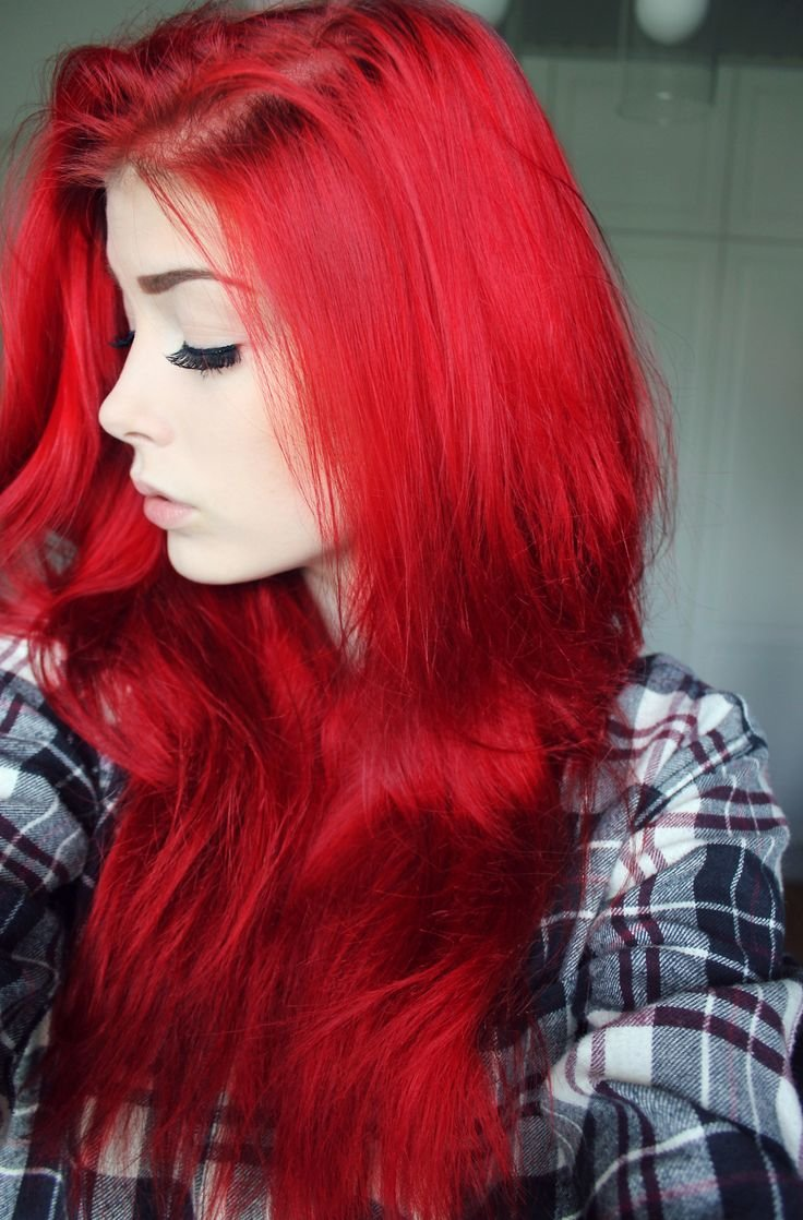 Russian tradition declares that red hair is both a sign of a fiery temper and craziness and a proverb warns There was never a saint with red hair
