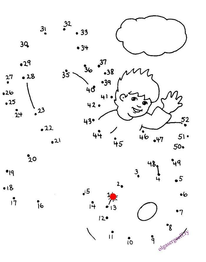 Соедини рисунок по точкам детские картинки