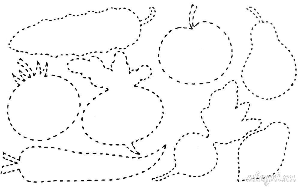 Графомоторика сад-огород картинки, цветов для настроения