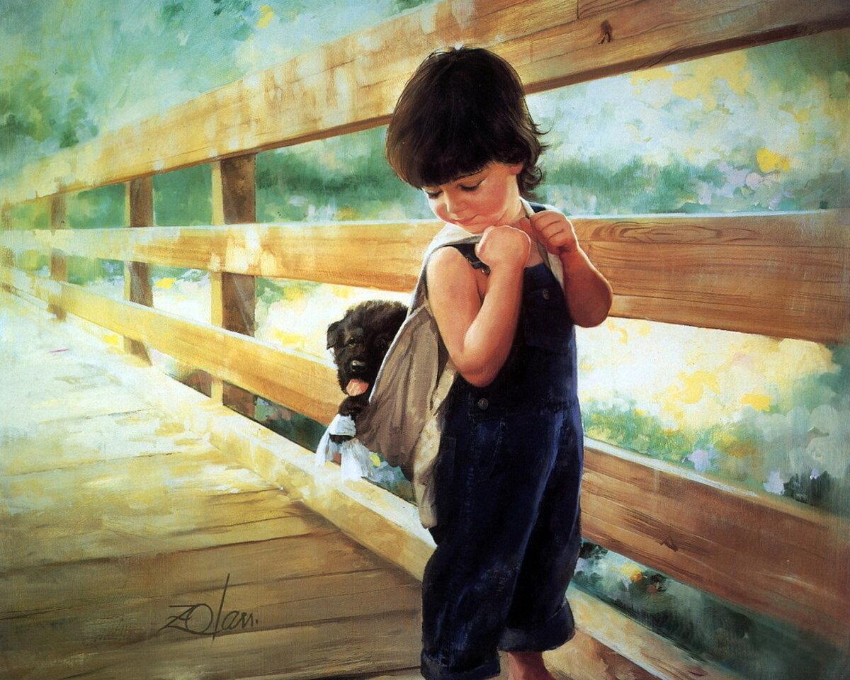Для, краски слушать мальчик с открытки