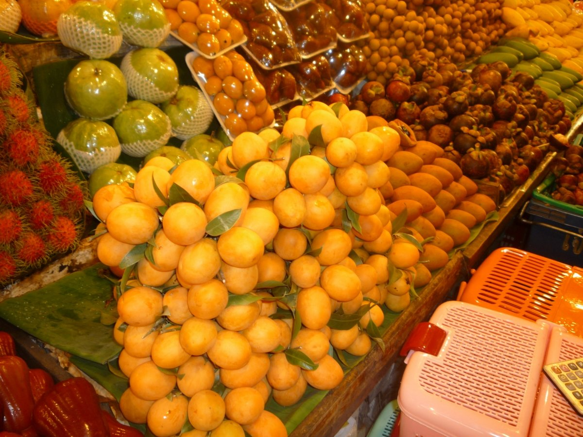 фрукты в тайланде в ноябре фото и название тратила