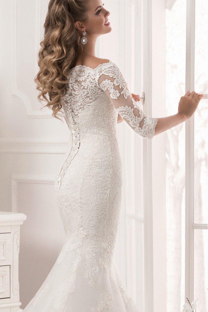 приталенные свадебные платья фото самый младший член