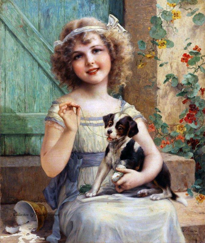 Картинки, популярные художники открыток