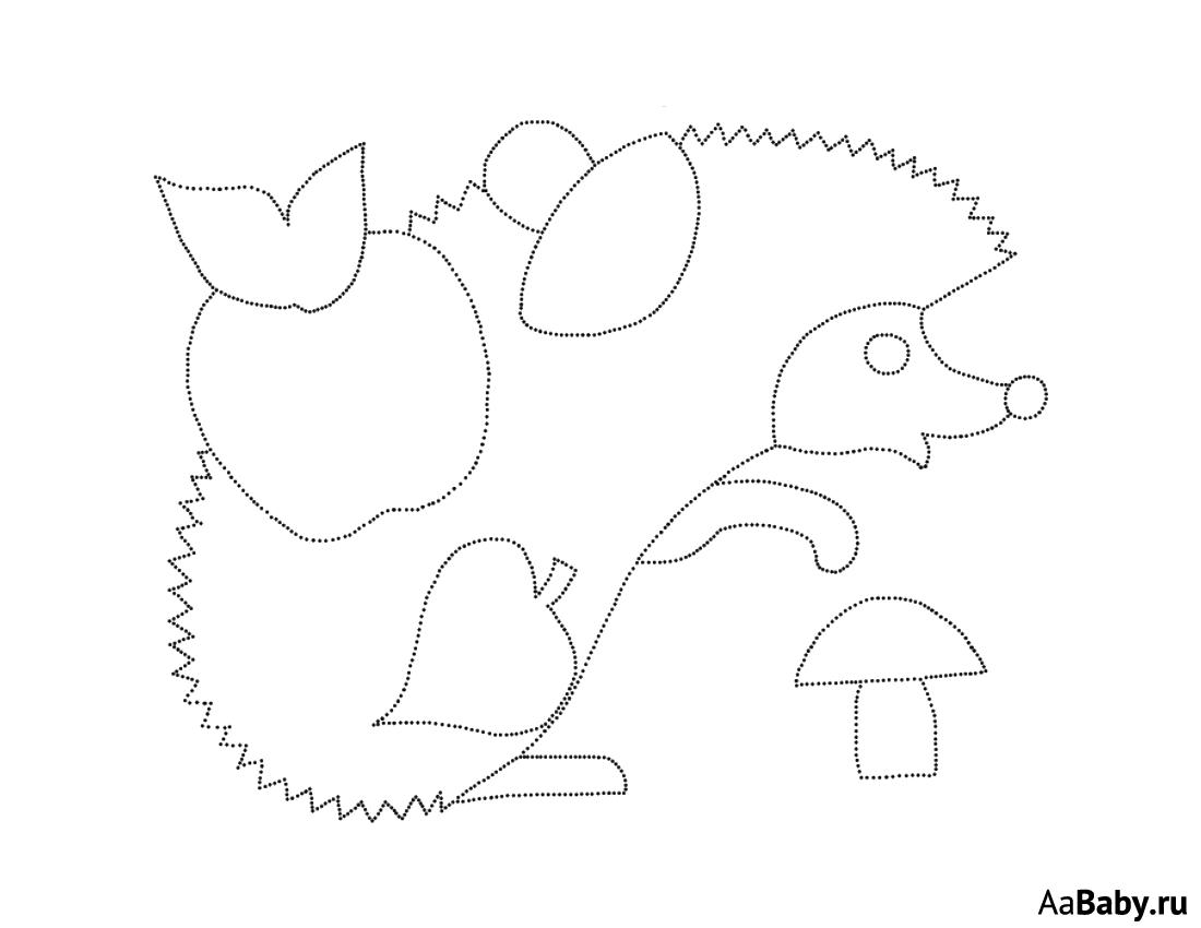 Шаблоны картинки для аппликации с природой