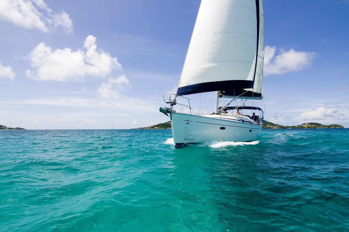 Картинки с яхтой на море, днем