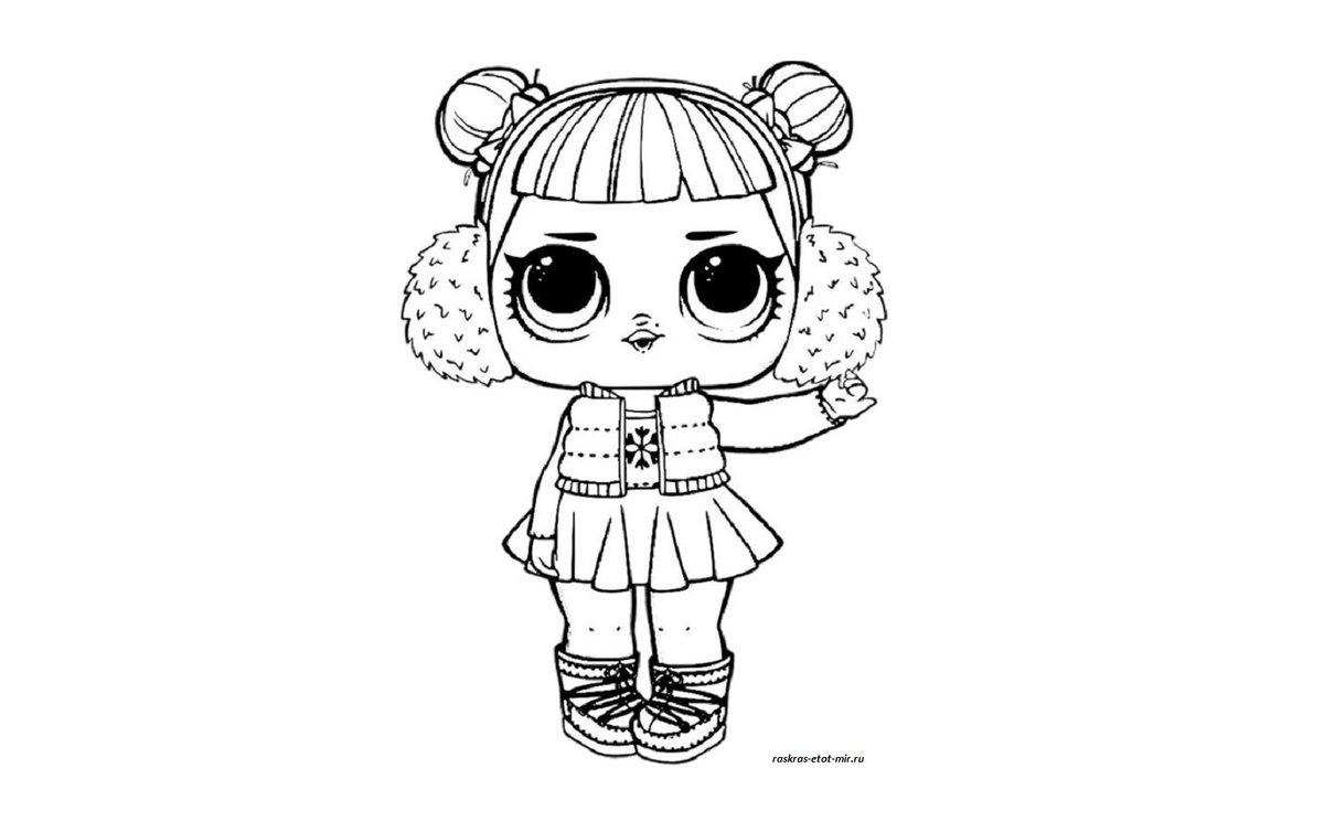 «Раскраски куколок ЛОЛ - Раскрась этот мир!» — карточка ...