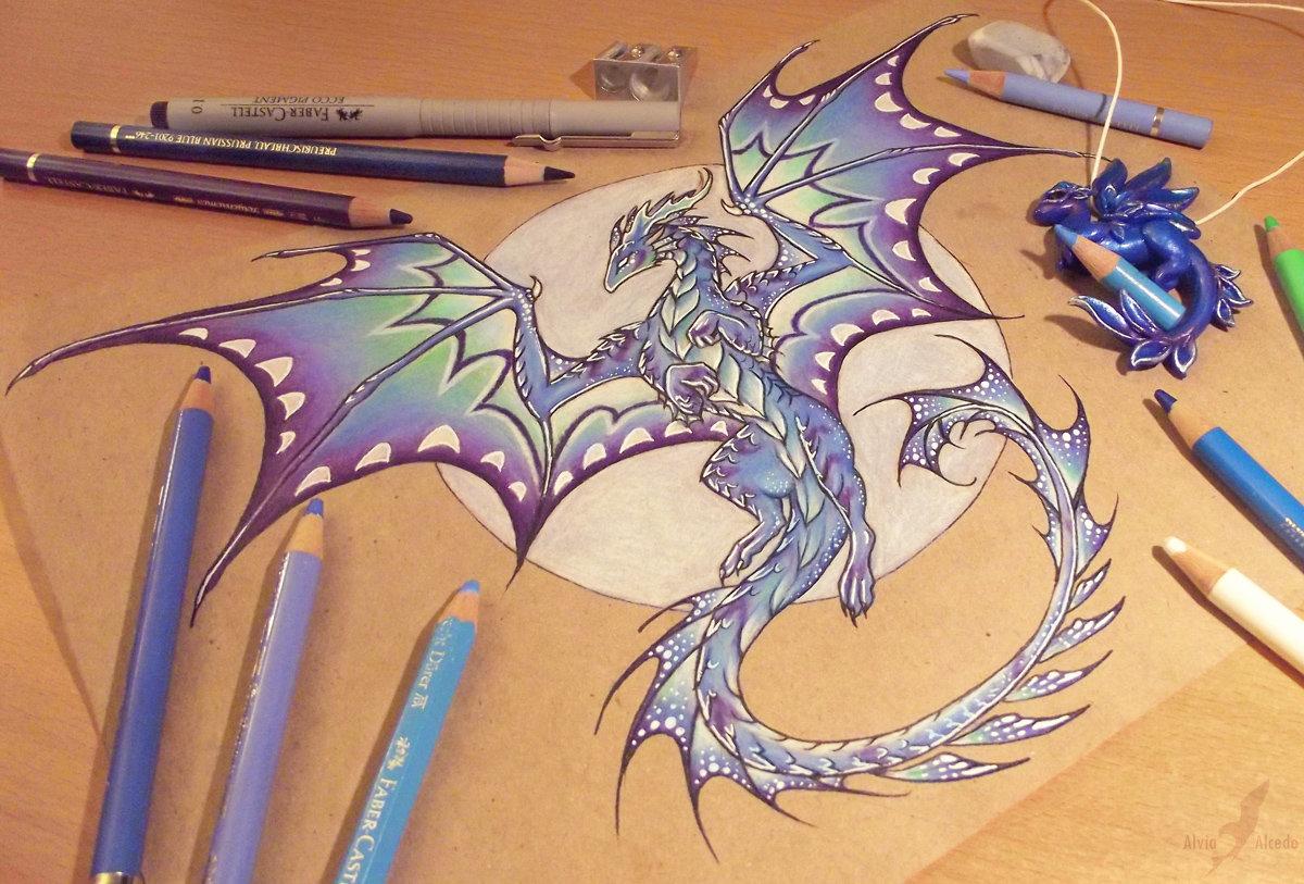 одни предков картинки драконов как они рисуют собрать