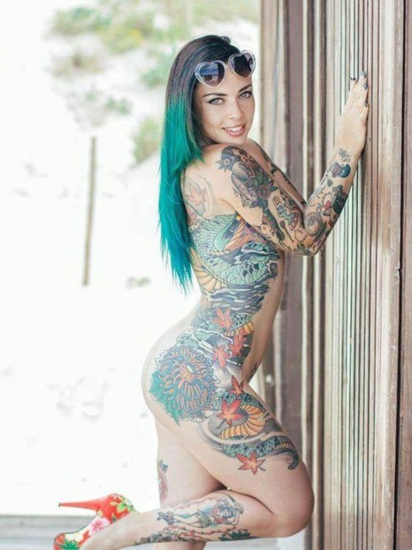 Xxx naked most tattooed lady obama porno