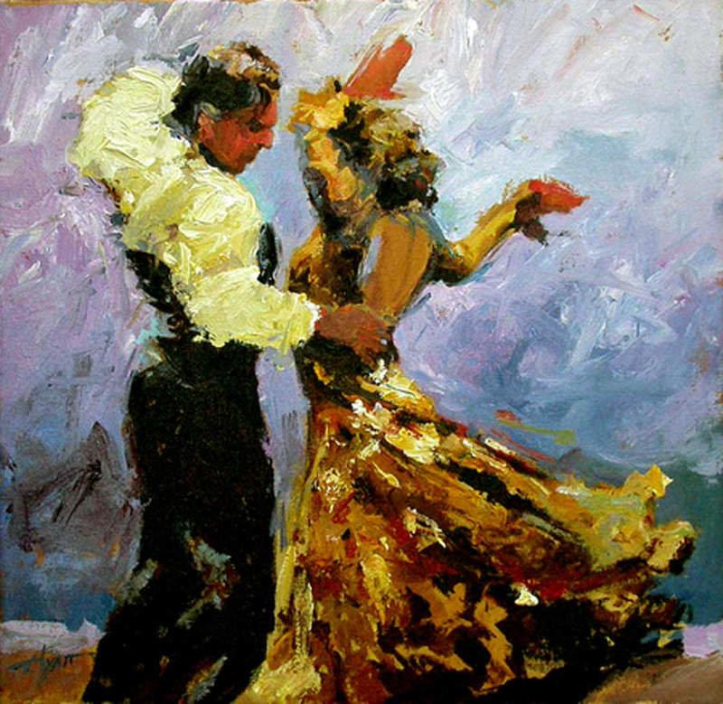 Картинки живопись танцы