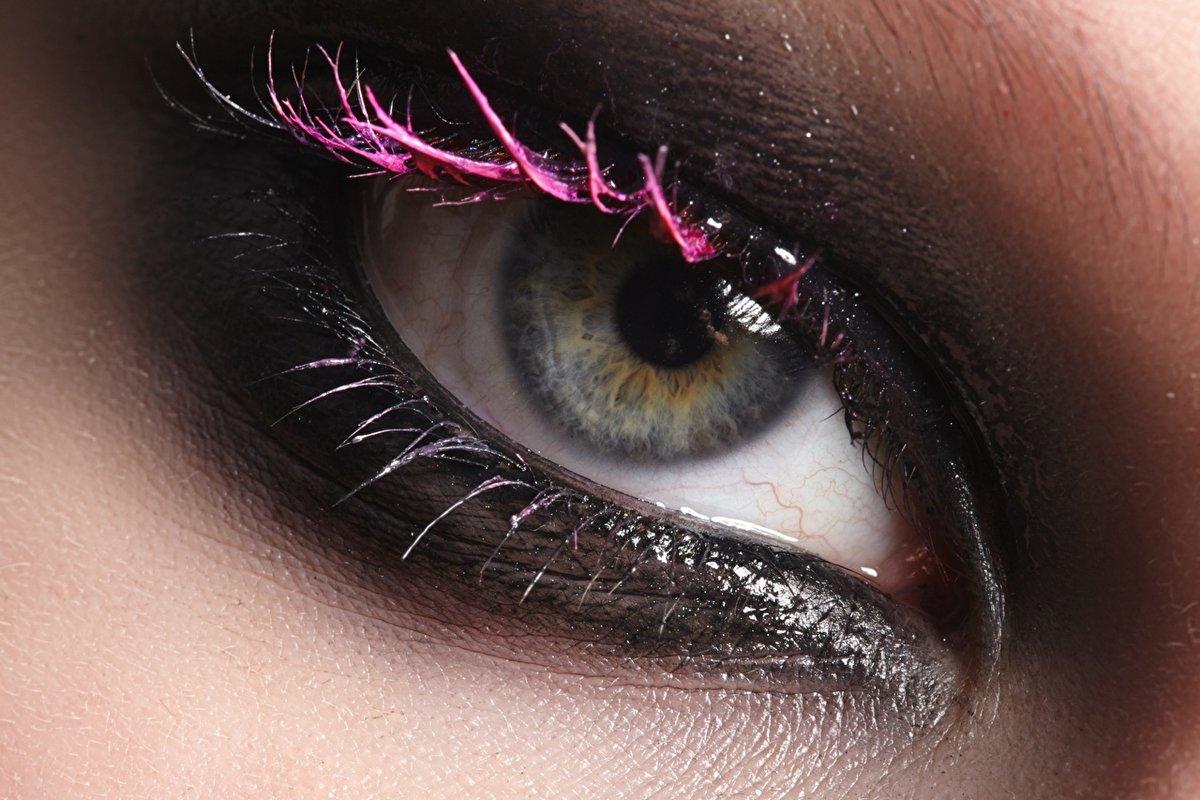 как фотографировать макияж глаз макро фото такого вида