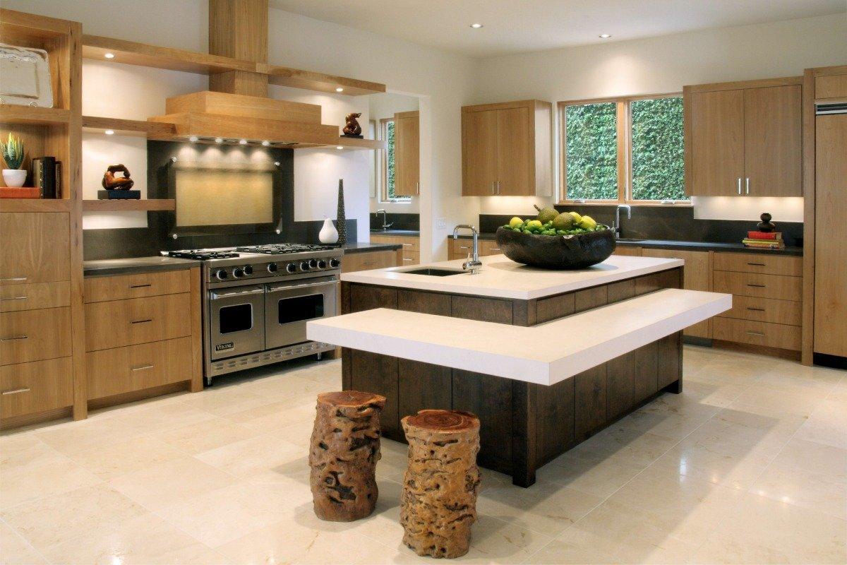 правым рулем стол остров для кухни фото продумать