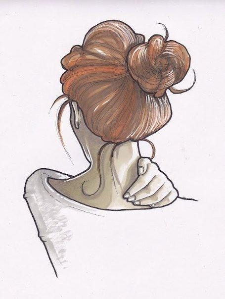 Пианино лидия, прикольные и легкие рисунки для срисовки девочки со спины
