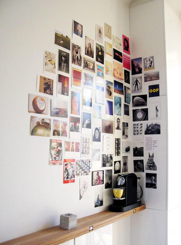 как красиво оформить стену фотографиями карта преображенка позволяет