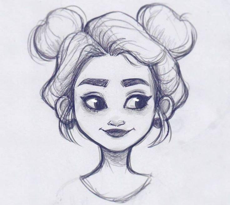 Картинки, рисунки карандашом для начинающих прикольные для девочек