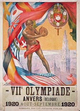 20 апреля 1920 г. Открылись VII летние Олимпийские игры в Антверпене (Бельгия)