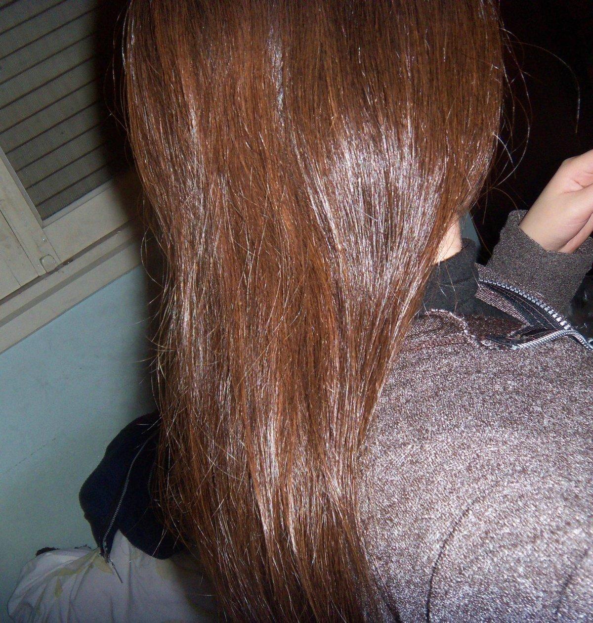 Хна на волосах картинки