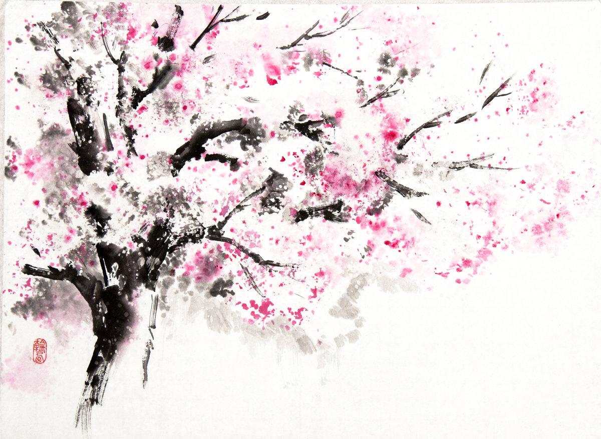 Рисованные картинки в японском стиле
