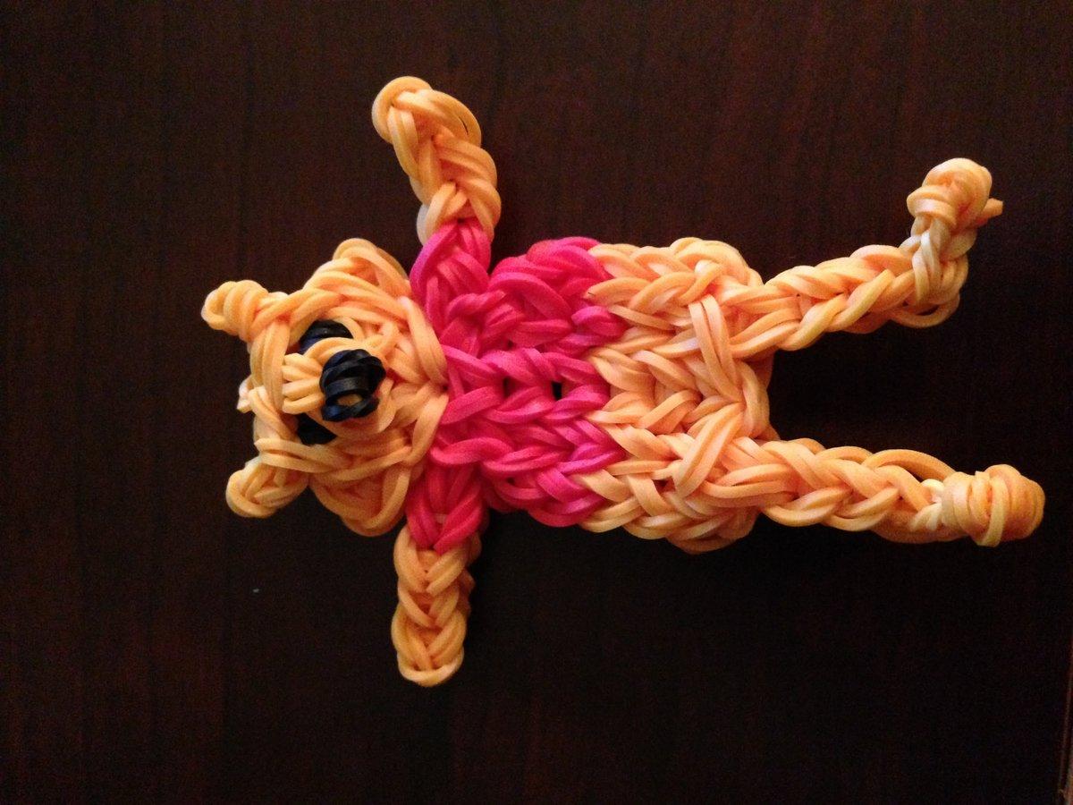 официальной картинки игрушек из резиночек красная фиолетовая декоративная