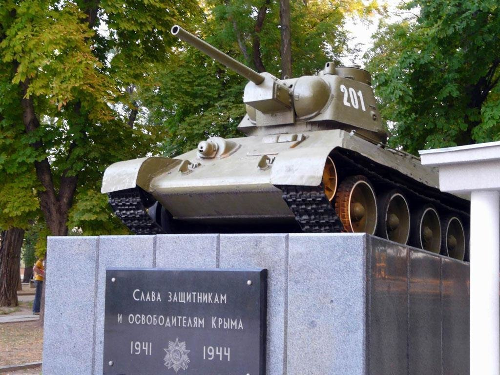 13 апреля 1944 года Симферополь освобожден от немецко-фашистских захватчиков