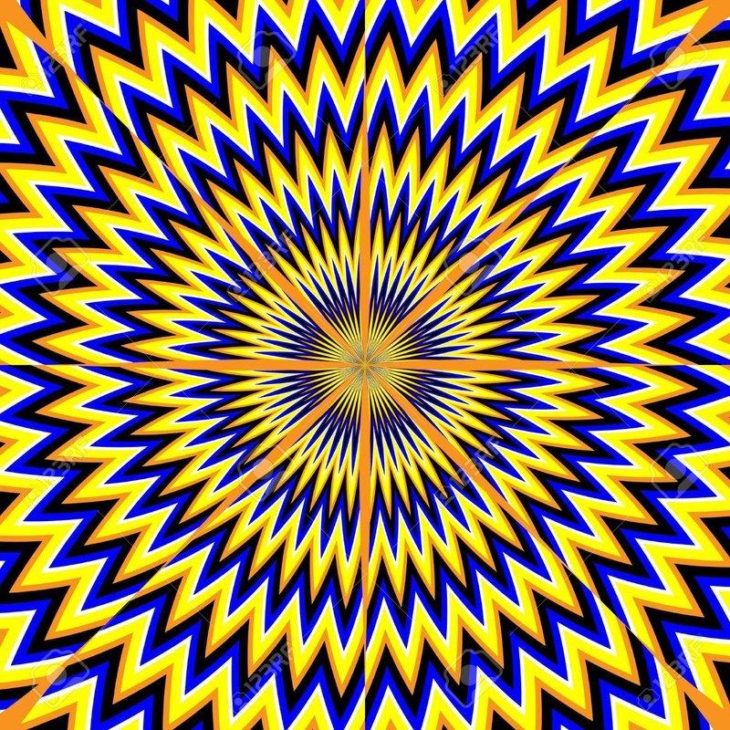 Картинки которые движутся обман зрения