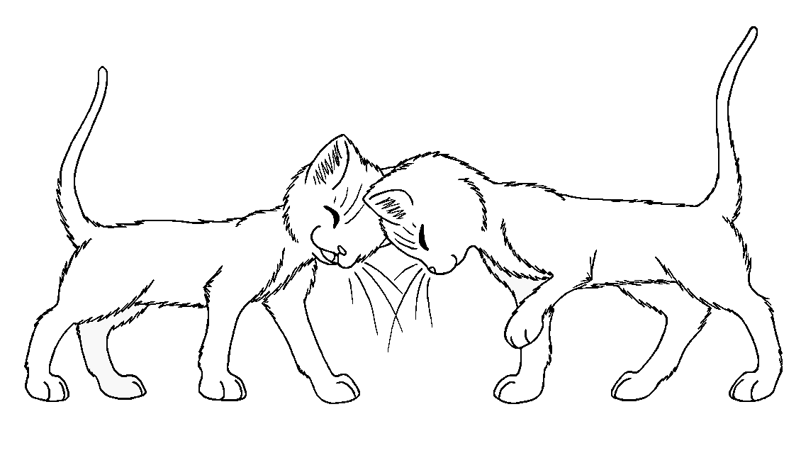 Warrior Cats Coloring Page 286859 Card From User Friskkuratova In YandexCollections