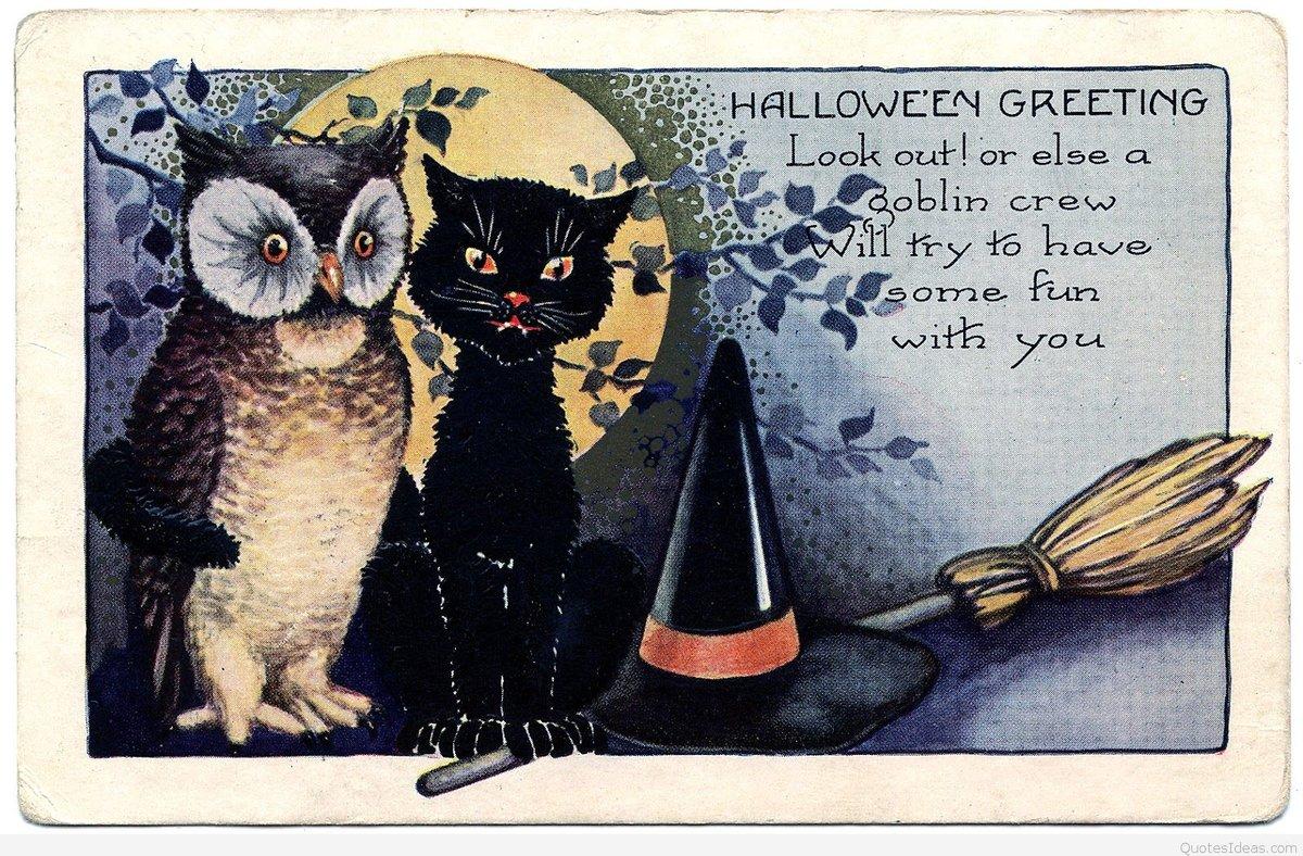 Добрым, черный котенок открытки