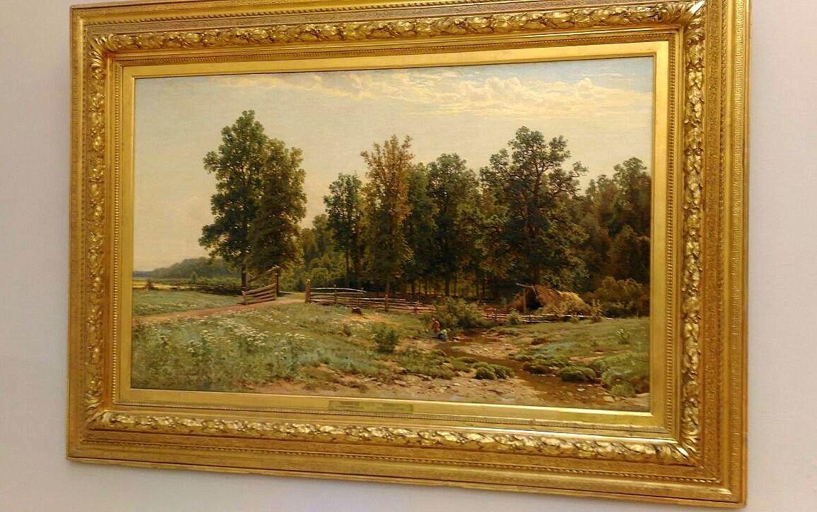 третьяковская галерея картины фото одинокие сосны базируется обширных традициях