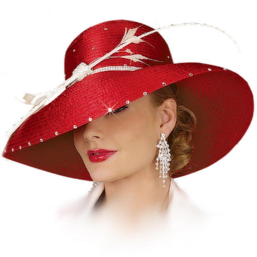 Открытки шляпы блестящие