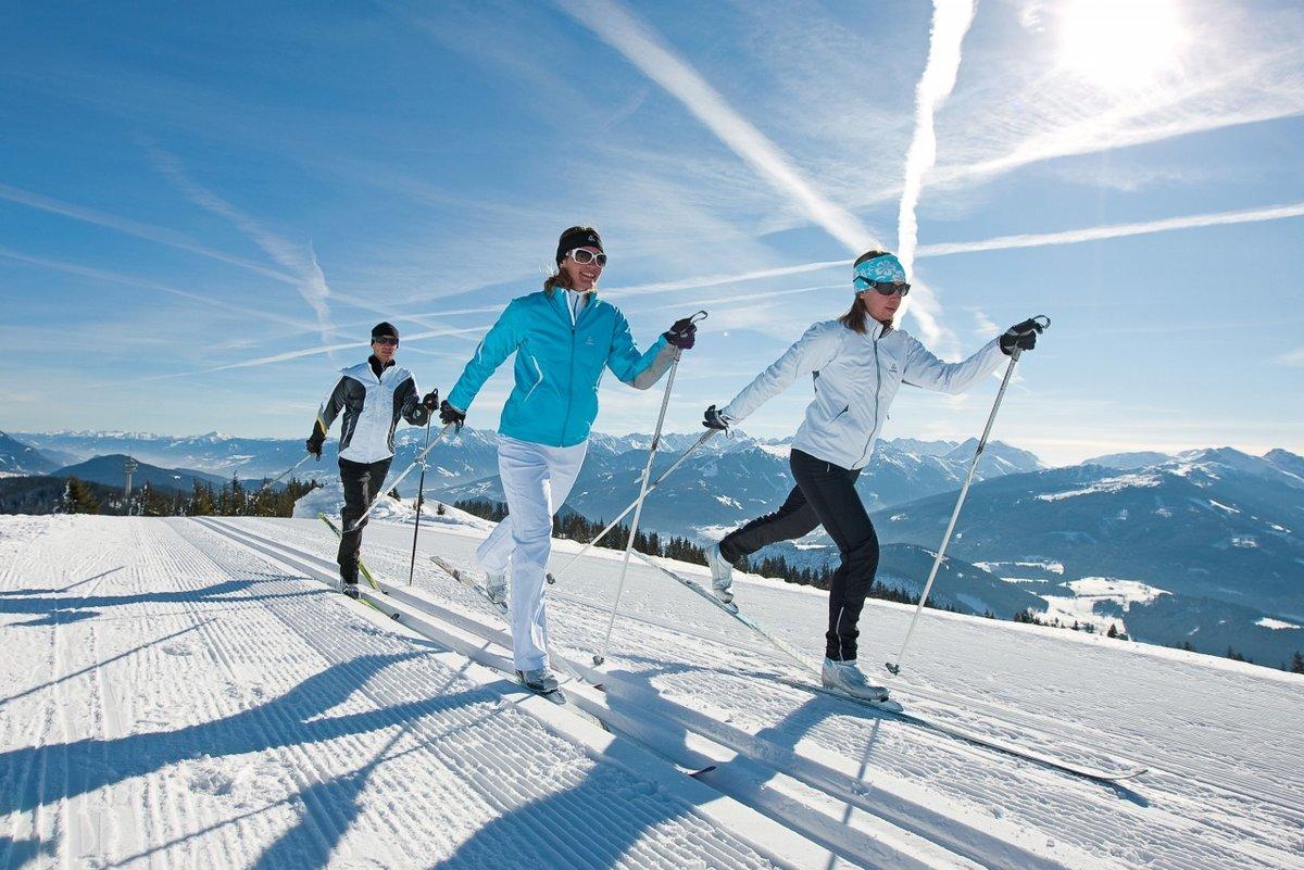 Лыжи и лыжники картинки