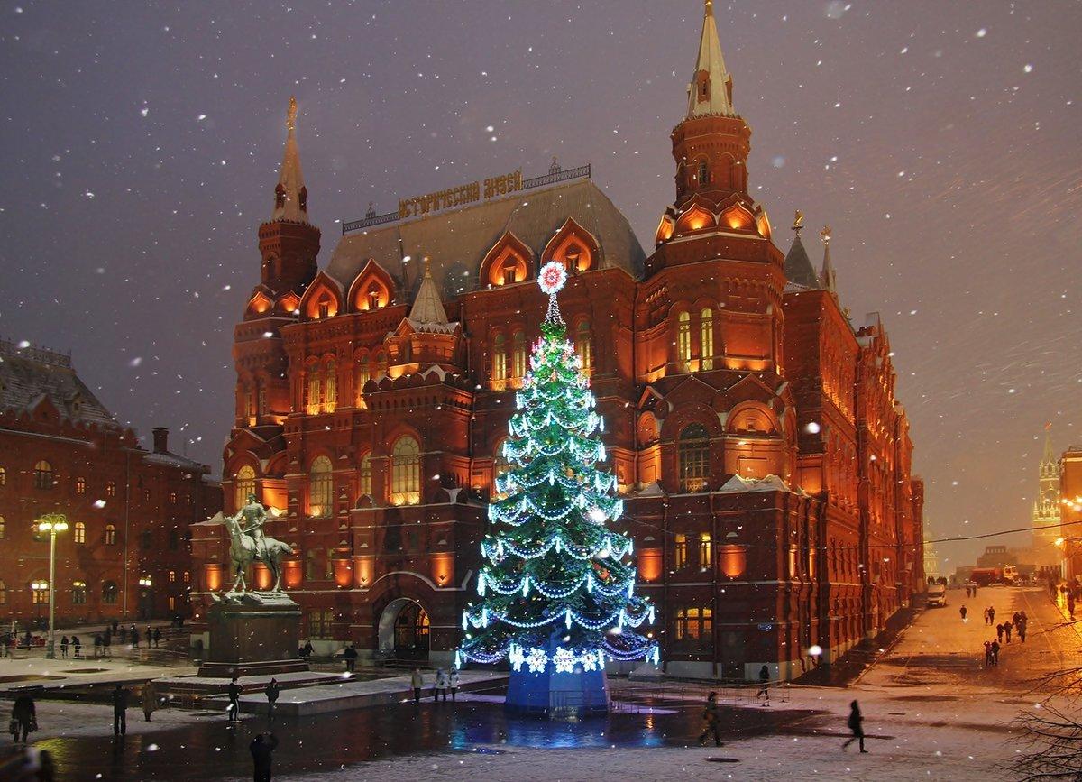 Лучшие фото москвы зимой