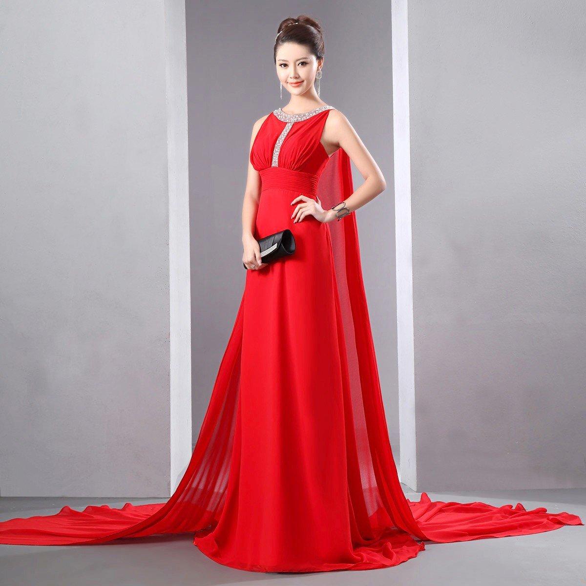 длинные красные вечерние платья в картинках можно установить разные