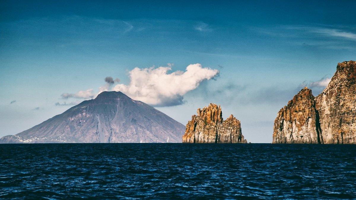 Вулканы в Италии