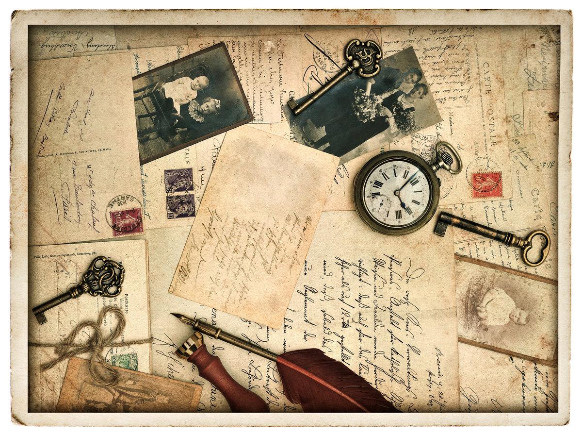 Как там, красивые открытки в ретро стиле